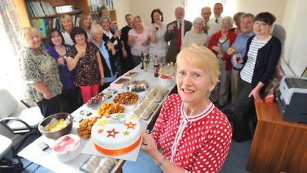 Sister Anthea Haddon retires after 27 years with the Yare Valley Medical Practice.Photo by Simon Fin