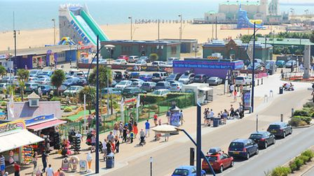 View of Marine Parade in Great Yarmouth. July 2013.Picture: James Bass