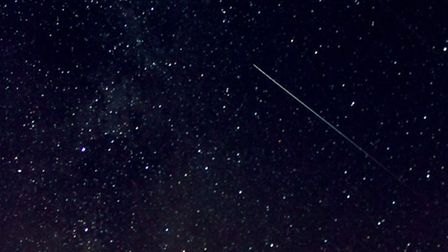 Perseid Meteor Shower. Picture by Martin Stirland
