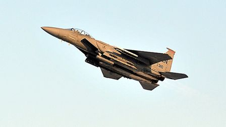 20th Anniversary celebrations of the arrival of the F-15 at RAF Lakenheath.