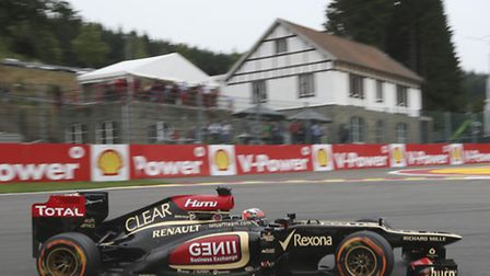 Kimi Raikkonen's luck finally ran out in Belgium, but Lotus will hope he's still around for the same