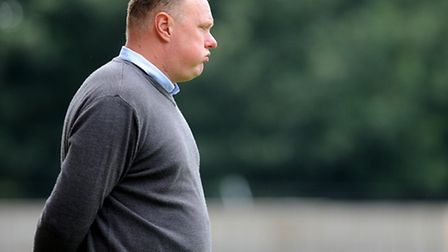 Lynn boss Gary Setchell was not happy at what he saw on Saturday. Picture: Ian Burt