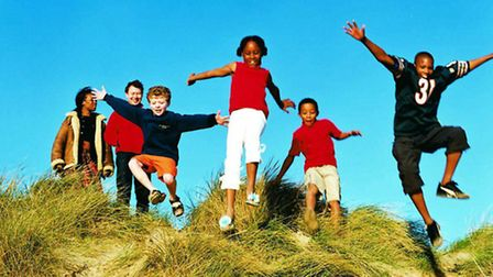 Generic image of children playing, issued to support a story on adoption. Supplied by Norfolk County