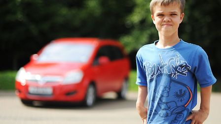 Daniel Gotts is 17 but cannot learn to drive like everyone else his age because he suffers from a co