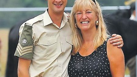 Cavalryman Tim Baker and his mum, Julie, touched the editor's heart this week.