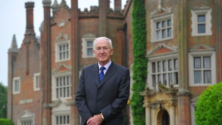 Bernard Matthews Executive Chairman David Joll, who has returned to the company, pictured at the Gre