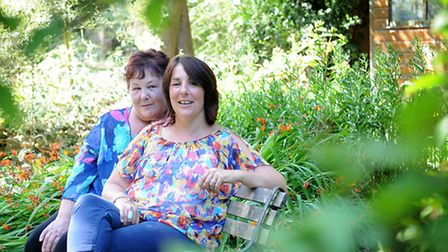 Linda Cossey and her daughter Sandra who were told they had the BRCA gene. PHOTO: ANTONY KELLY