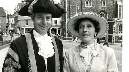 Former Lord Mayor of Norwich George Richards has died at the age of 87.