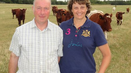 Charles and Sally Horrell, top Shorthorn herd