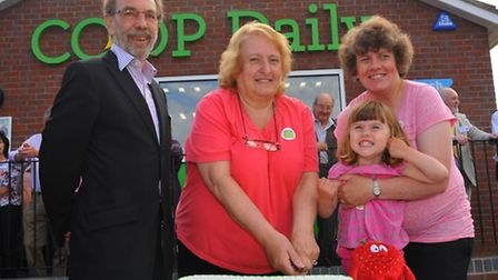 Official opening of the East of England Co-op store on Laundry Lane, Thorpe St Andrew. East of Engla