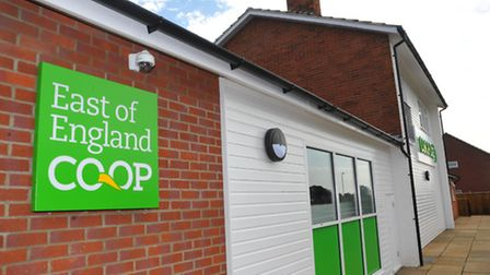Official opening of the East of England Co-op store on Laundry Lane, Thorpe St Andrew. Photo: Steve