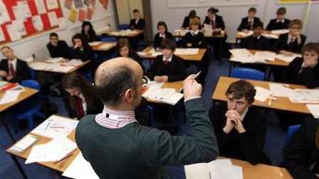 Students are back in the classroom following the summer holiday. Photo credit: David Davies/PA Wire