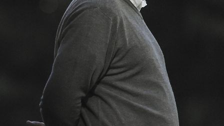 Gary Setchell watches on from the sidelines. Picture: Matthew Usher.