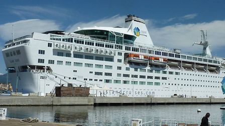 Cruise operator Thomson's Island Escape ship; Photo credit: Submitted.