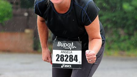 Angela McNamara is running the Great North Run in September in memory of her mum and aunt who died