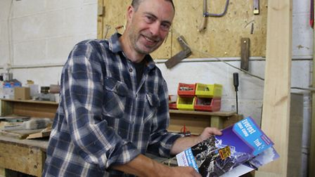 Bodham cabinetmaker Fred Corbett, who is trekking to Everest base camp on September 25, in aid of a
