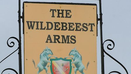The Wildebeest Arms in Stoke Holy Cross.