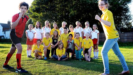 Dereham Otters and Dereham Hockey Club have joined forces to organise a fun run at Senowe Park in Gu