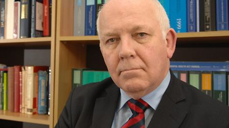 Norfolk's coroner William Armstrong - concerned over missing ECG results.