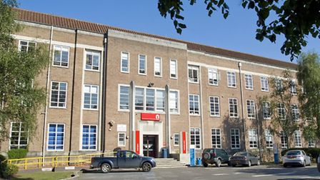 The main building at City College Norwich is set for a revamp: Submitted pictures