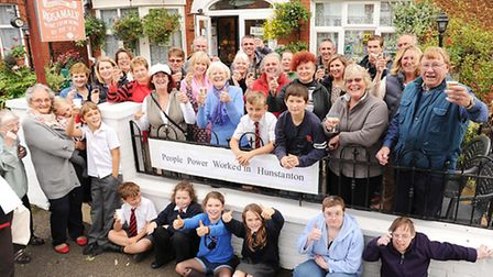 Residents of Hunstanton are celebrating defeating the car parking charge plan. Picture: Ian Burt