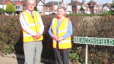 John and Jane Langley of the North Yarmouth Community Resilience Group