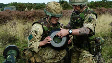 The Javelin, which was first fired by 3 PARA in Afghanistan in 2006, gives infantry units a highly a