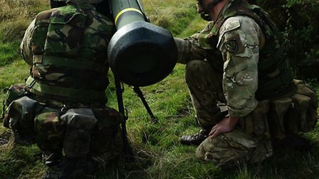 .Paratroopers have launched the Javelin at STANTA, the first time the anti-tank missile has been fir