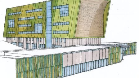 The plans for Lowestoft College development will be going on display