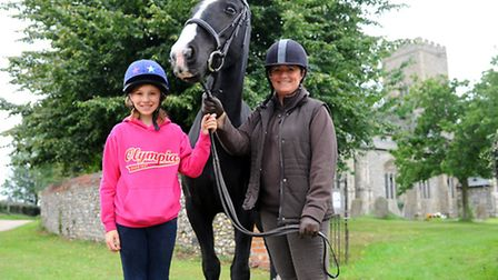 The World Horse Welfare in Snetterton hold a pet thanksgiving service for all animals including the