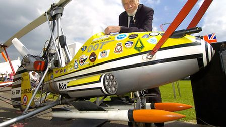 Little Nellie to star in celebration of Wing Commader Ken Wallis' life.