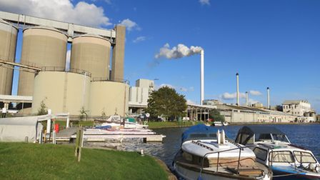 Cantley Sugar Factory next to the River Yare. The latest campaign started this week.Picture: James B