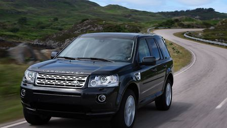 The Freelander will one of the used Land Rovers available in the sale at Hunters Land Rover in Norwi