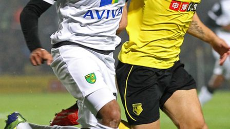 Nathan Redmond is back in contention for Norwich City ahead of Chelsea's Premier League visit. Pictu