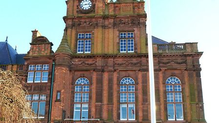 Great Yarmouth town hall on South Quay