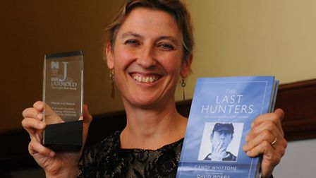 EDP Jarrolds East Anglian Book Awards 2012. Winner of the Nature and Places category winner and over