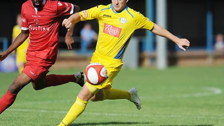 Lynn's poacher supreme Shane Tolley has decided to leave the club. Picture: Ian Burt