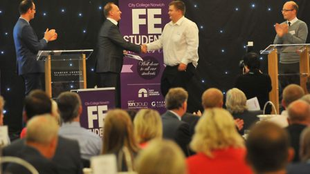 City College Norwich Further Education Awards. Photo: Bill Smith
