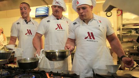 Rugby Union - Marriott England Rugby Player Appearance - Hollins Hall, Marriott Hotel & Country Club, Bradford -...