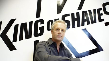 Will King, chief executive of King of Shaves, which is launching a new razor the Azor 5 next week.
