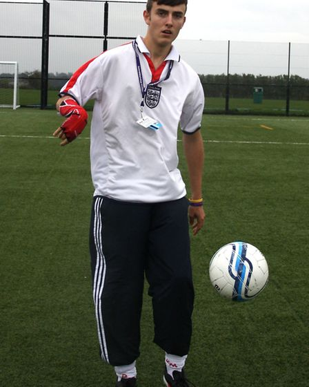 Easton & Otley College student Bailey Fleming has beeing called up for the England Under-20 Cerebral