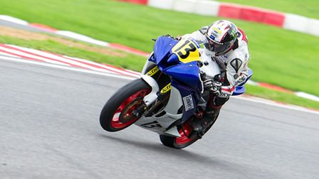 Sprowston's Jake Newstead finished what has been a difficult year on a podium high at Brands Hatch.
