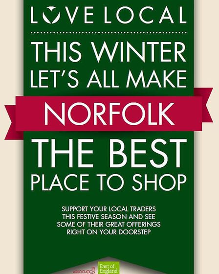 Love Local Norfok Poster.