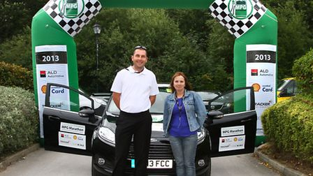A Ford Fiesta 1.6-litre turbo diesel ECOnetic won the 2013 ALD Automotive/Shell FuelSave MPG Marathon for the second year...