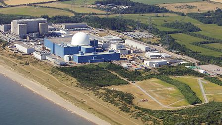Sizewell site near Leiston, Suffolk. Picture Mike Page