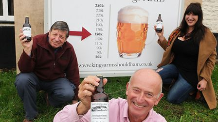 John McGourty, chairman of the Save Our King�s Arms (SOKA) campaign outside the King's Arms at Shoul