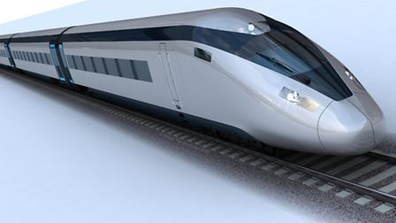 HS2 could have a big financial impact on some parts of Norfolk, Suffolk and Cambridgeshire. Picture: Press Association