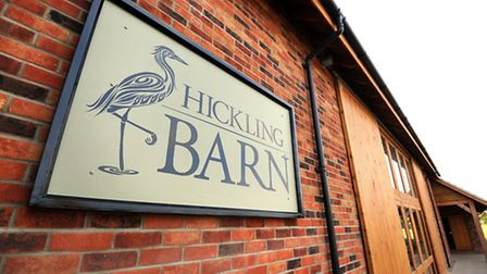General view of Hickling Barn. Picture: James Bass