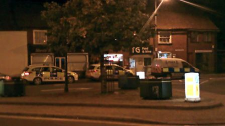 A man has been arrested following an attempted robbery at a Wymondham shop.