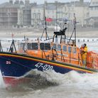 """The RNLI """"Spirit of Lowestoft"""" lifeboat in action recently. Picture: NICK BUTCHER."""